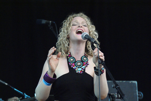The Heather Findlay Band at the 2012 Cambridge Rock Festival