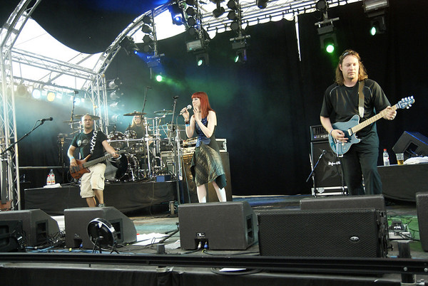 Touchstone at the 2012 Cambridge Rock Festival