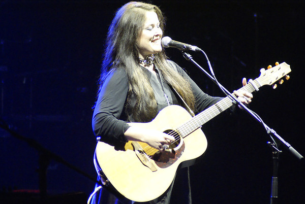 Anne-Marie Helder supporting Steve Hackett at Hammersmith Apollo