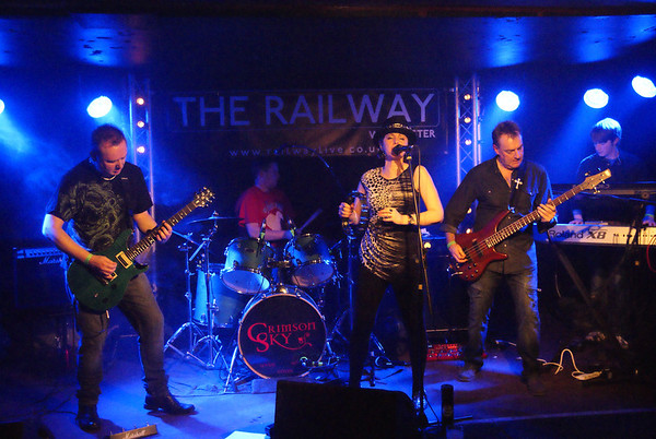 Crimson Sky at The Railway, Winchester