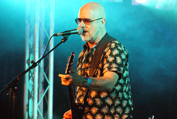Andy Powell of Wishbone Ash at the 2014 Cambridge Rock Festival