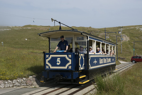 Great Orme Tramway, near Halfway