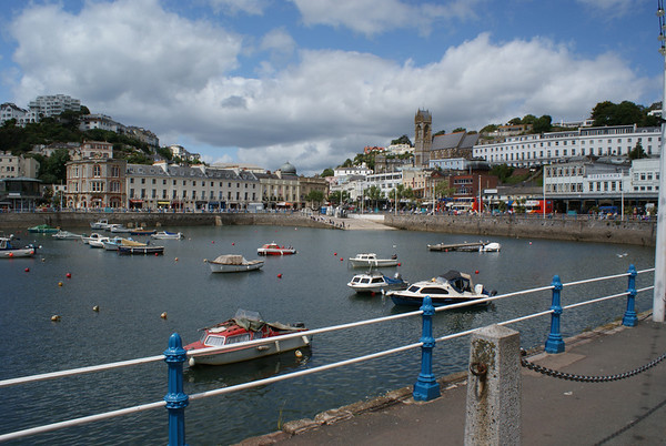 Torquay harbour, June 2009