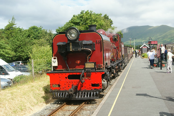 WHR Beyer-Garratt No 138 at Rhyd Dhu