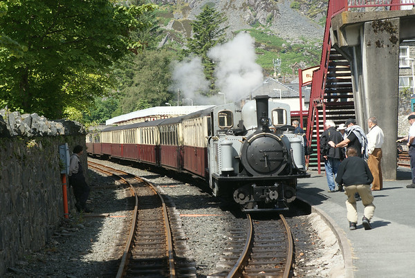 Ffestiniog Railway's double-Fairlie