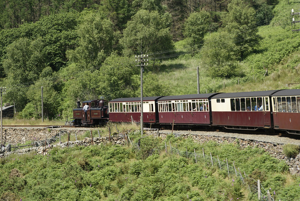 Ffestiniog Railway double Fairlie