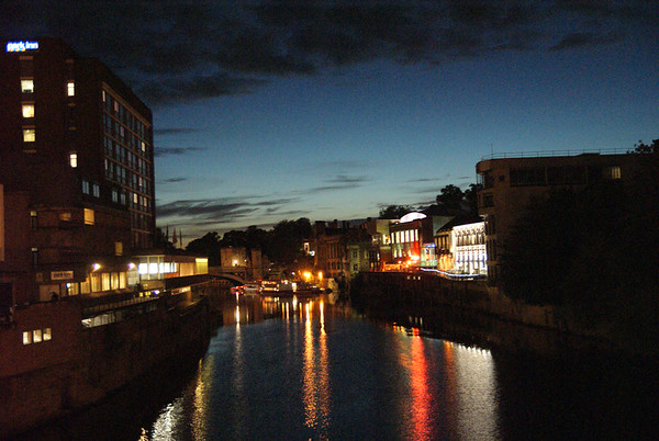 The Ouse at York by night