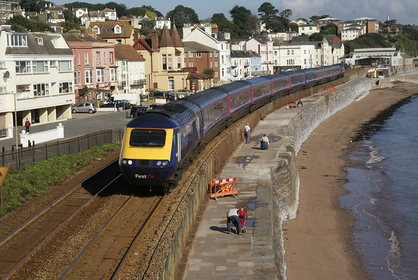 First Great Western HST at Dawlish