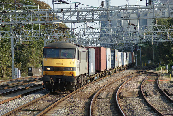 Intermodal freight on the West Coast Main Line