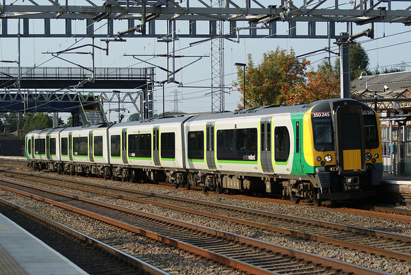 London Midland 350 at Rugeley Trent Valley