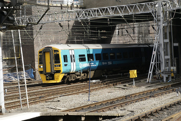 Arriva Wales class 158 on a Birmingham International to Aberystwyth/Pwllheli working. At five hours it's one of the longest journeys you can do on a 158