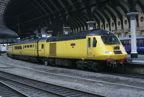 The Network Rail Measurement Train at York on 29th June 2014