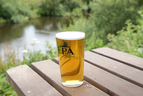 Beer by the Severn