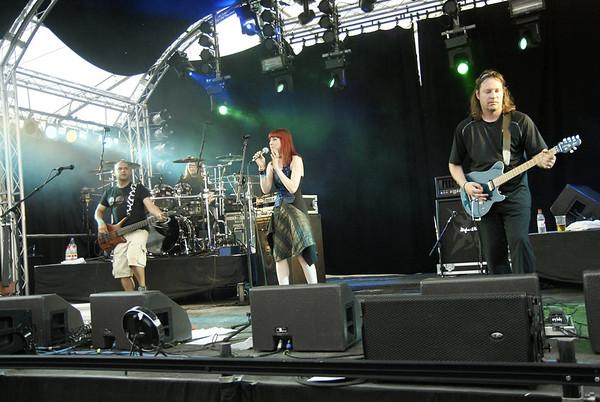 Touchstone at the 2012 Cambridge Rock Festival