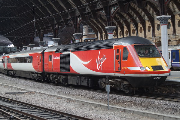 Virgin Trains East Coast HST at York