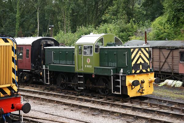 "Preserved class 14 ""Teddybear"" on the Forest of Dean Railway"