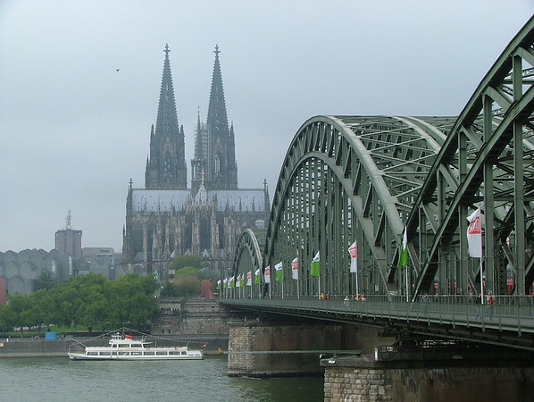 Cologne Cathedral and Rhine Bridge